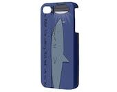 Rabbit Loves Shark Apple iPhone 4/4S Hardshell Case, iPhone 4s case, iPhone 4 cover, iPhone 4 cover, case for Iphone 4 - richardcases