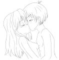 comment dessiner un couple qui s embrasse manga