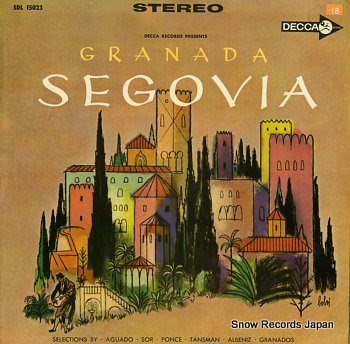 SEGOVIA, ANDRES granada