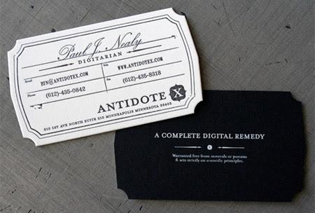 Antidote X Business Card