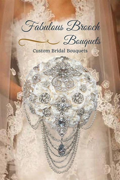 Best 25  Brooch bouquets ideas on Pinterest   Wedding