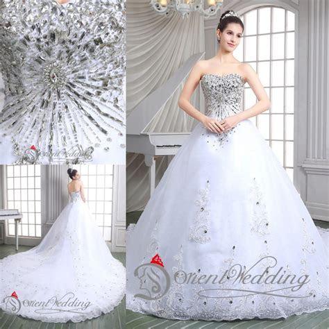 Online Get Cheap Bling Wedding Dress Ball Gown Aliexpress