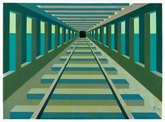 07火車穿越錯橋Train Passes Wrong Bridge