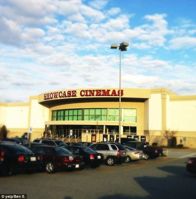 Riker, 36, says they went to Showcase Cinemas at Warwick Mall in Providence, Rhode Island