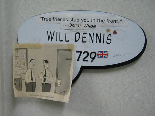 Will's door