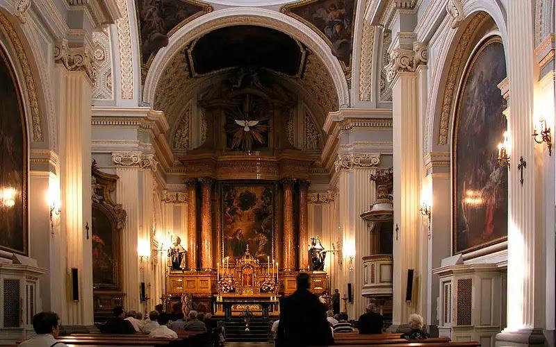 Iglesia del Real Monasterio de la Encarnación. Foto: Wikipdia Hakan Svensson. (CC-BY-2.5)