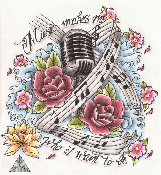 Tattoos Anyone On Clipart Library Music Tattoos Music Notes And