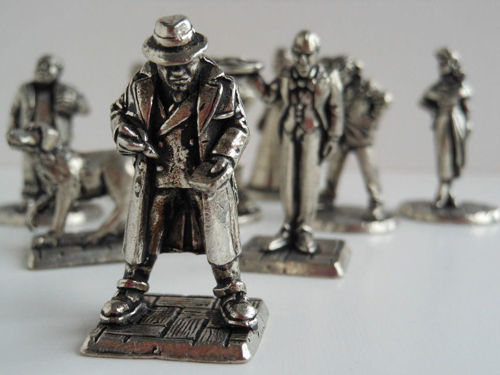 Cluedo Super Sleuth miniatures