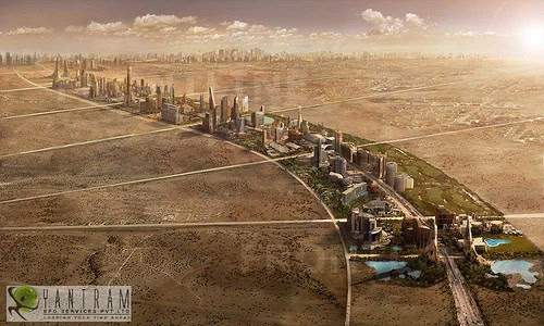 3d Urban design by Yantram 3D Architectural rendering & 3D Walkthroug