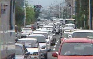 Japanese traffic jam