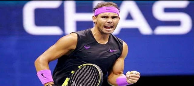 Nadal in the US Open semifinal