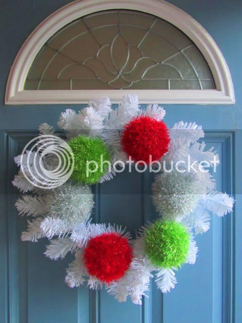 Merry Knitmas Wreath