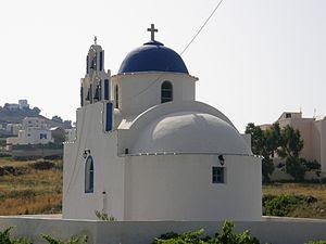 Church of Saint Andrew at Akrotiri on the Gree...