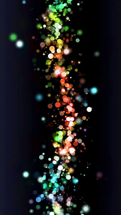 colorful abstract bokeh iphone glitter wallpapers