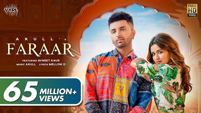 Sanu Karke Pyar (Faraar) Song Lyrics - Avneet Kaur & Akull