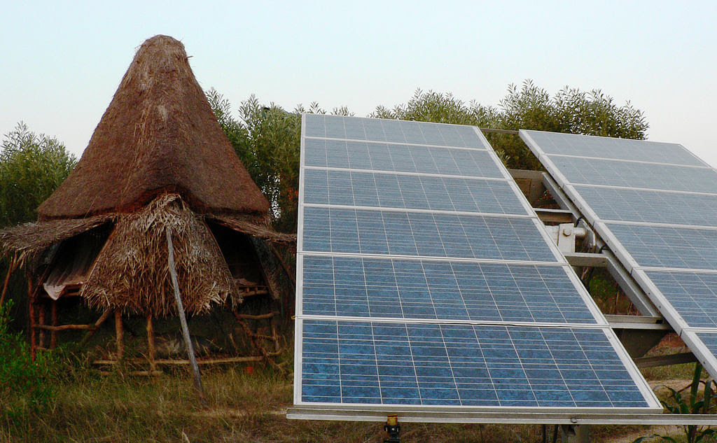 India's first solar powered village in Orissa