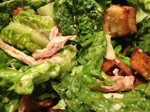 Bacon Chicken Caesar Salad
