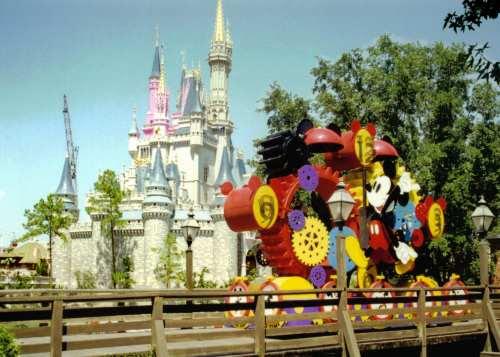 magic kingdom. the magic kingdom florida.