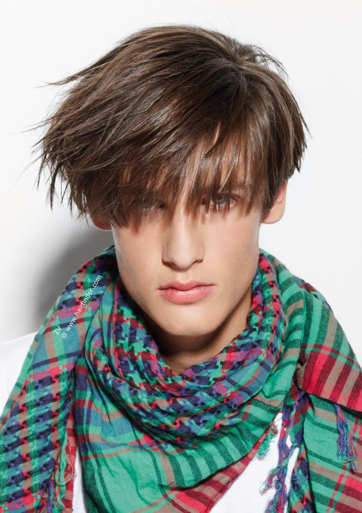 20 Men's Bangs Hairstyles Ideas 2016 - Mens Craze