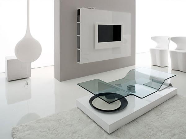 Ultra Modern Living Room Furniture by Compar   Modern Interiors