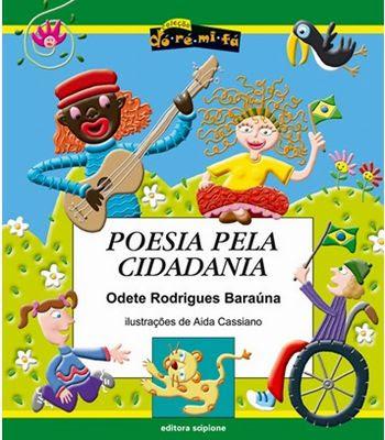 Resultado de imagem para livro poesia pela cidadania atividades