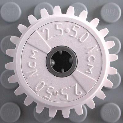 spur,24,tooth,white,ev3,robot,loader,motor,slip 10 Lego Technic CLUTCH Gears