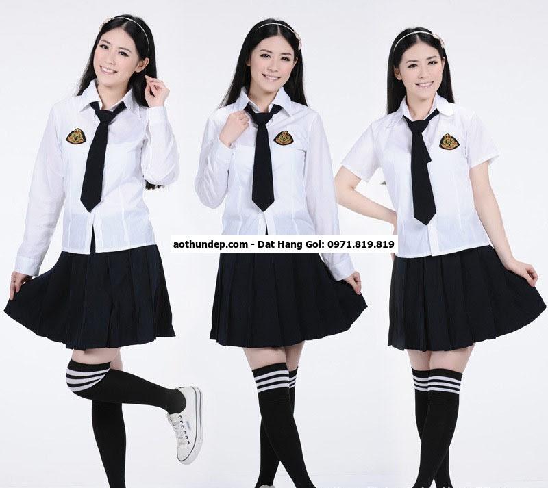 đồng phục học sinh cấp 3 việt nam
