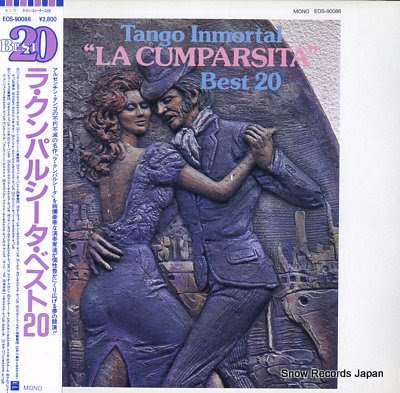 V/A tango inmortal la cumparsita best 20