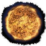 """A pokol tüze az egész földet be fogja borítani. Kerülete 25 ezer mérföld (mintegy 40 ezer kilométer) lesz. Az általa kibocsátott hő pedig olyan forró lesz, hogy a földön minden """"meg fog égni""""."""