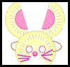 Conejo Artesanía Máscara