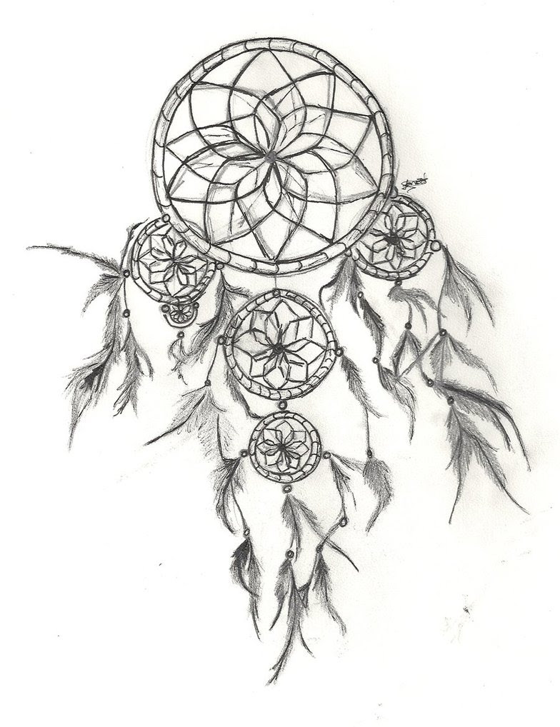 Moon Dreamcatcher Drawing at GetDrawings | Free download