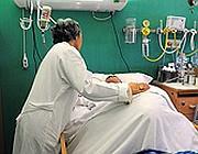 Un paziente in coma