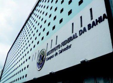 Ifba: Inscrições para 315 vagas residuais estão abertas até 20 de outubro