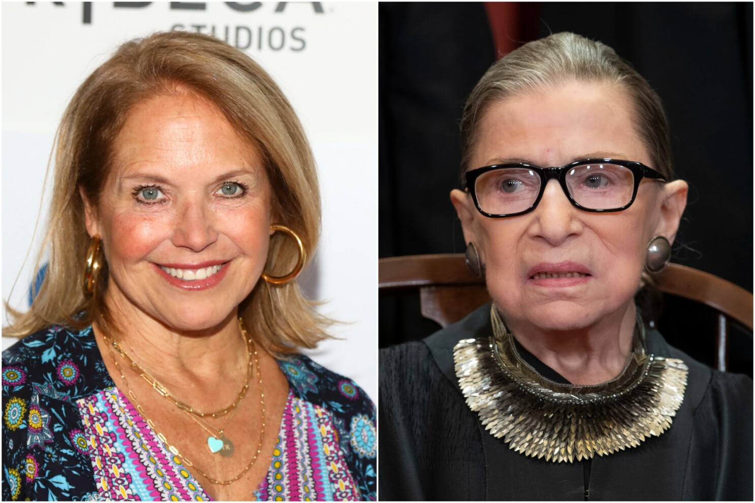 Why Katie Couric hid RBG remarks on national anthem protests
