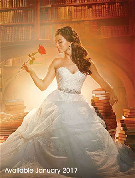 Belle Beauty and the Beast Books Library Wedding Dress