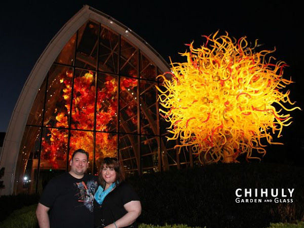 Seattle Vacation Recap: Day 1 - Chihuly Garden and Glass