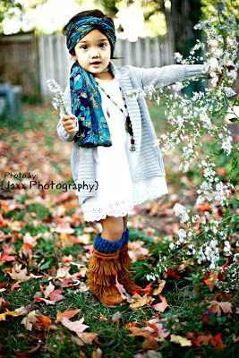 Boho kid coming up...hope she lets me dress her like this :)