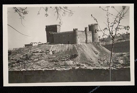 Castillo de San Servando hacia  1951. Foto Garrabella