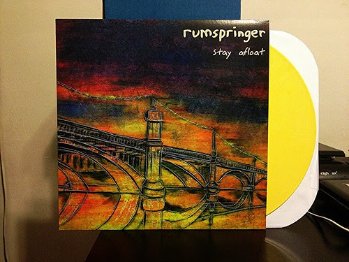 Rumspringer - Stay Afloat - Yellow Vinyl (/111) by Tim PopKid