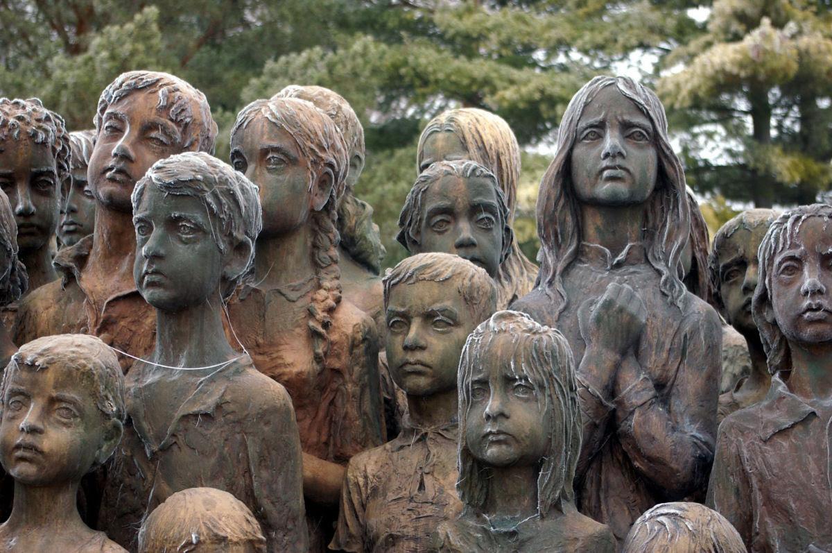 Memorial das Crianças Vítimas de Guerra em Lidice 09