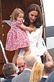 kate middleton prince william arrive in poland with george charlotte 02