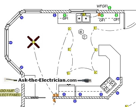Canadian House Wiring Diagram on basic fan relay wiring diagram