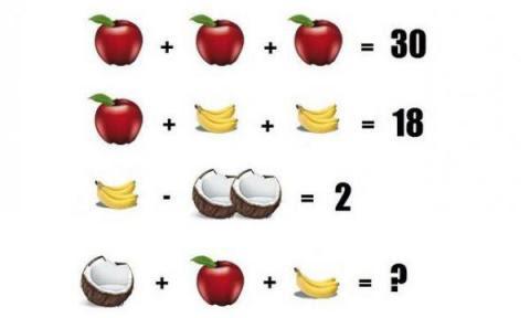Â¿Puedes resolver este acertijo? La respuesta no es 16