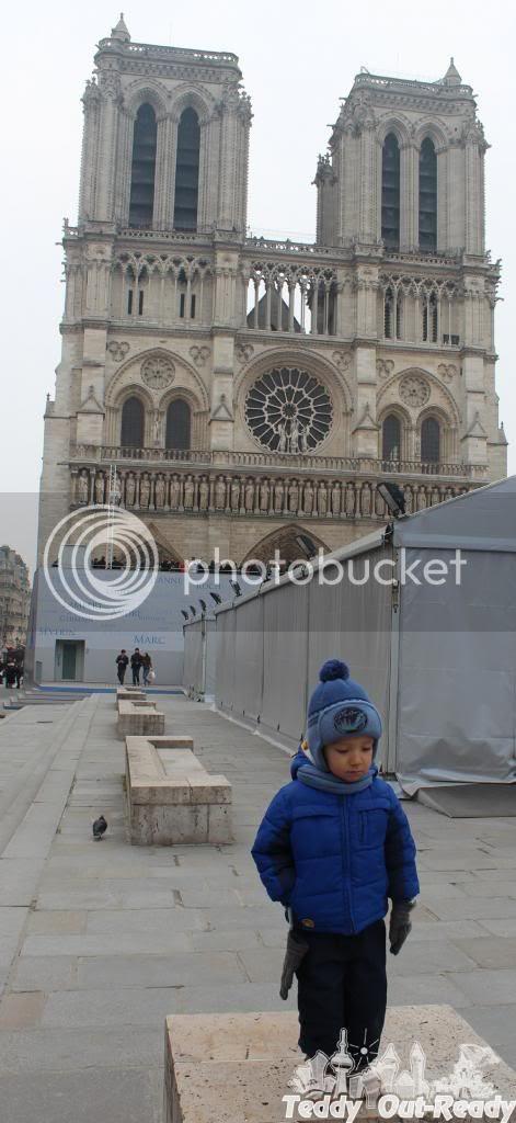 Notre Dame de Paris Teddy