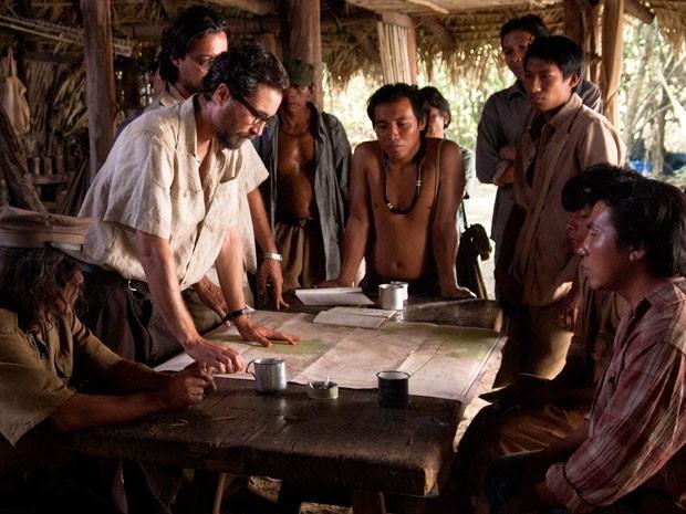Orlando e Claúdio lideram expedição para salvar os índios Kreen (Foto: Beatriz Lèfevre/ TV Globo)