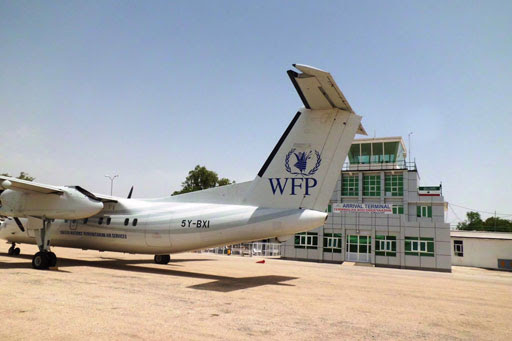WFP ops at Hargeisa airport