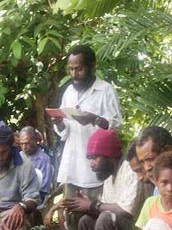 Yanga Tumbe Reading from Romans