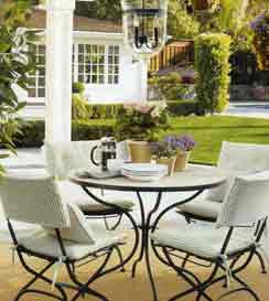 Wall Huggers - Patio & Porch Decorating Ideas