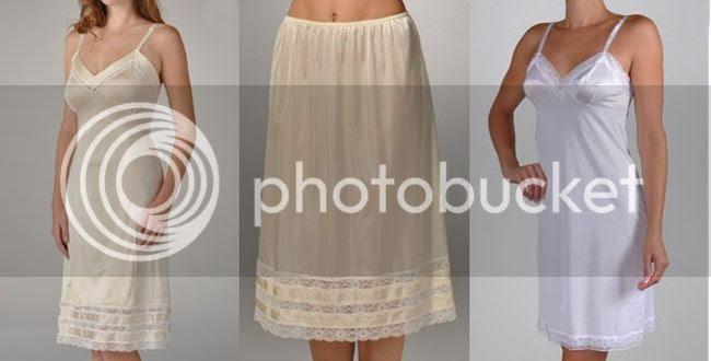 vintage style affordable lingerie slips