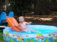 A Homemade Water Slide